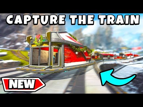 *NEW* CHRISTMAS TRAIN MODE - NEW Apex Legends Funny & Epic Moments #182