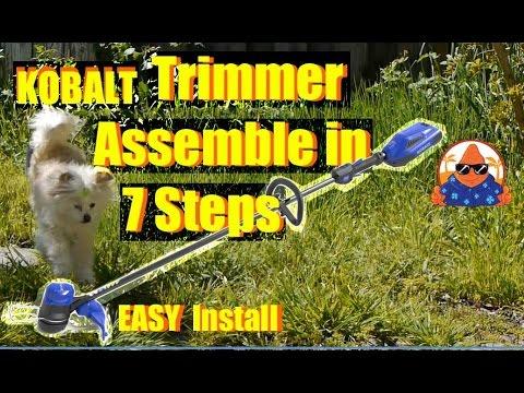 Kobalt 40v Weed Trimmer Review Doovi