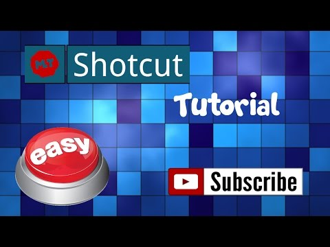 Shotcut Tutorial! Super Easy Video Editing!