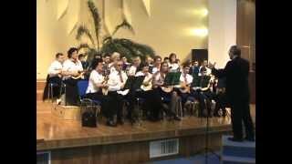 Orchestra de mandoline Speranta canta la Cernica-Bucuresti-26 ian 2013.