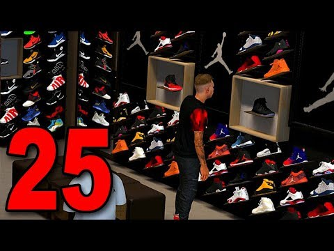 NBA 2K18 My Player Career - Part 25 - New Outfit and Shoe Shopping