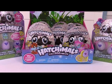 Massive Hatchimals Walmart Haul And Unboxing Cute Animals Egg Hatching