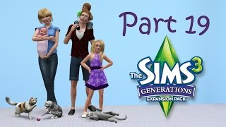 Let's Play the Sims 3: Generations (Part 19) - Prep for Prep School
