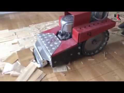 vote no on entfernen von pvc bodenbelag mit der strippermaschine ro 2. Black Bedroom Furniture Sets. Home Design Ideas