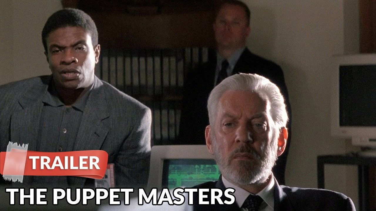 The Puppet Masters 1994 Trailer Donald Sutherland Youtube
