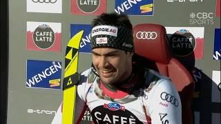 Downhill ski crashes, Wengen 2019
