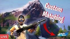 Fortnite Custom Matchmaking 🔵Live🔵