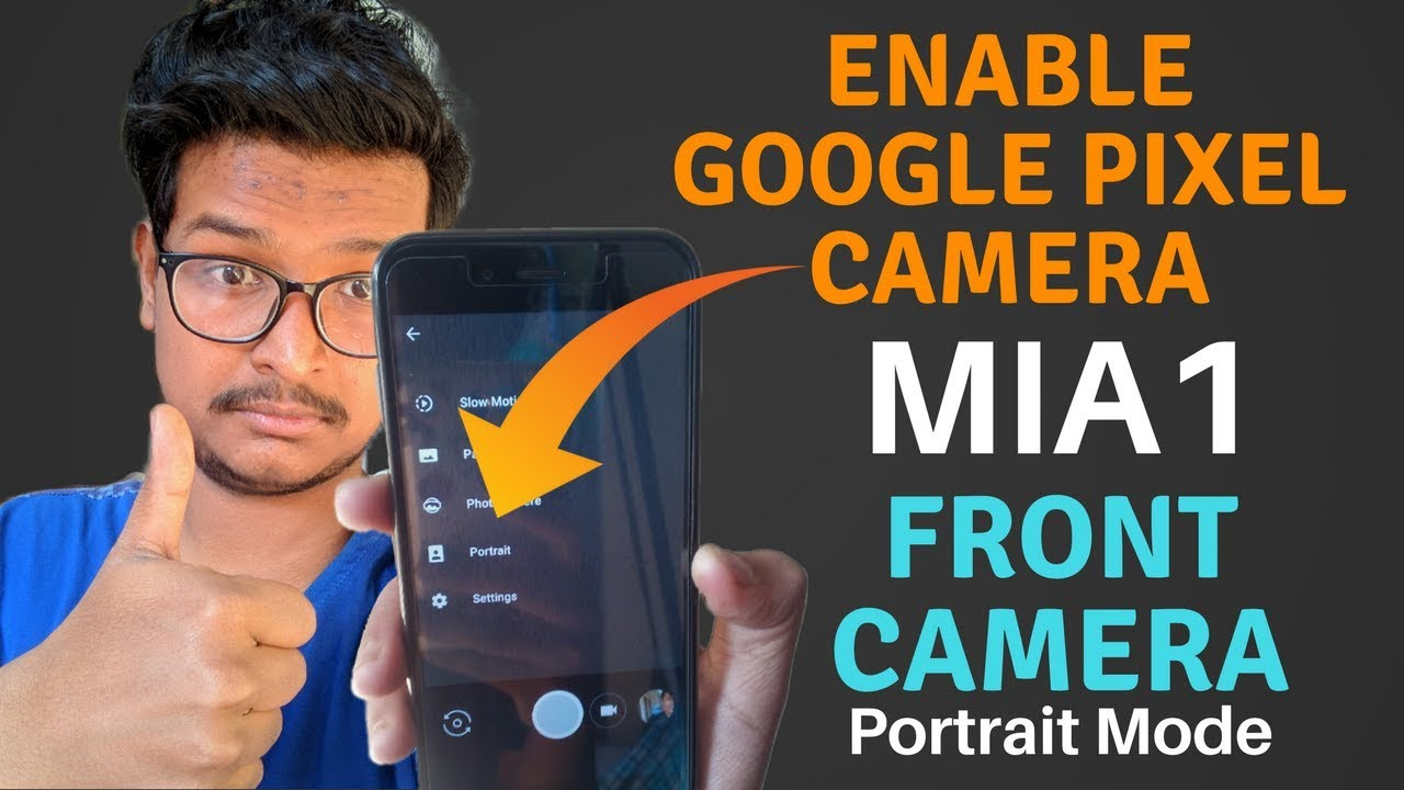 how to use pixel camera portrait mode
