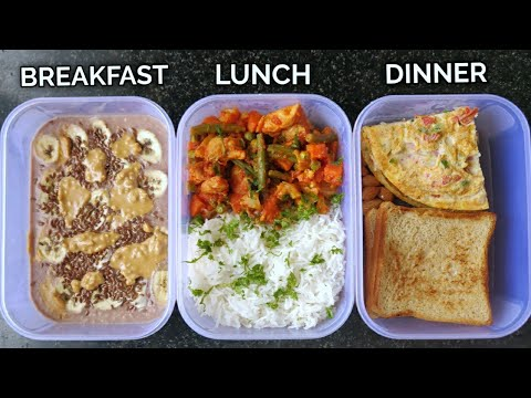 Meal Prep 2,000 calories in 20mins!! ( high protein ) ����