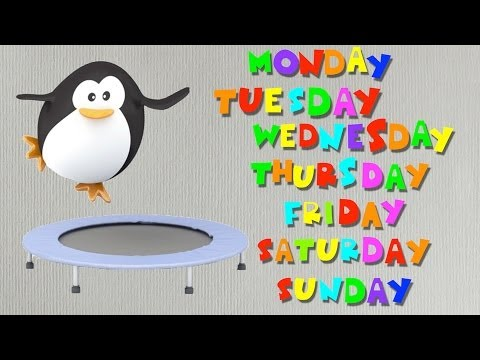 Days of the Week Sing-along Song