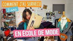 Faire une école de mode : comment j'ai survécu - Couture Débutant