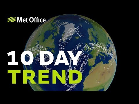 10 Day trend – What are the chances of snow this Christmas? 19/12/18