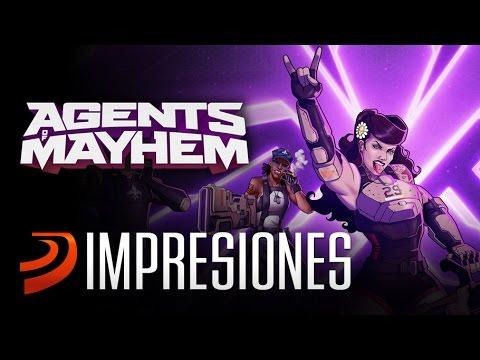 Agents of Mayhem - Jugamos al nuevo CAOS SHOOTER de Volition
