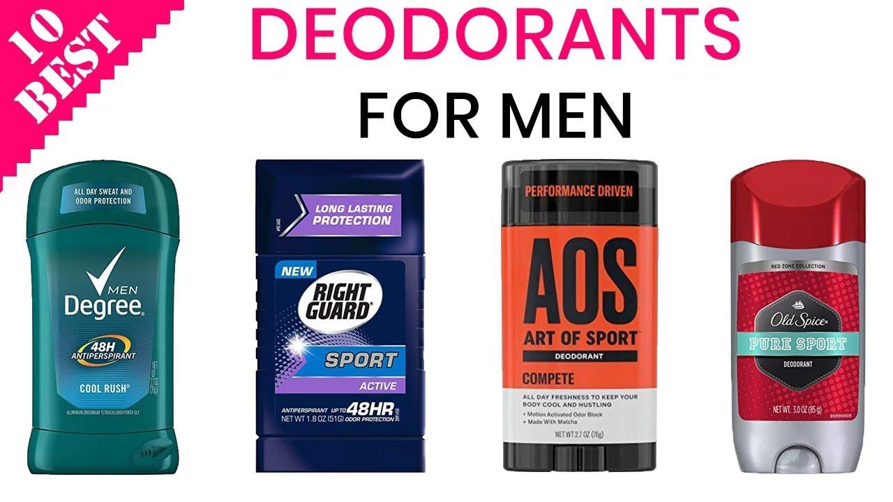 10 Best Deodorants for Men 2019 | Best Men's Antiperspirant & Deodorant