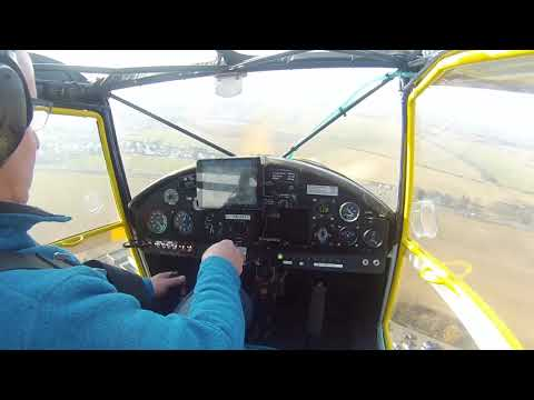 Kitfox - Taildragger Ground Loop! What did he do wrong?