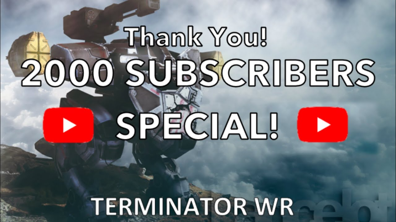 VOICE REVEAL: Thank You for 2K Subscribers! + Weber Spectre Fun Gameplay | War Robots