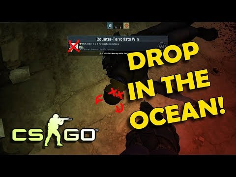 CS:GO Moments - Drop in the ocean, bottom frag lagii! (Sarawak)