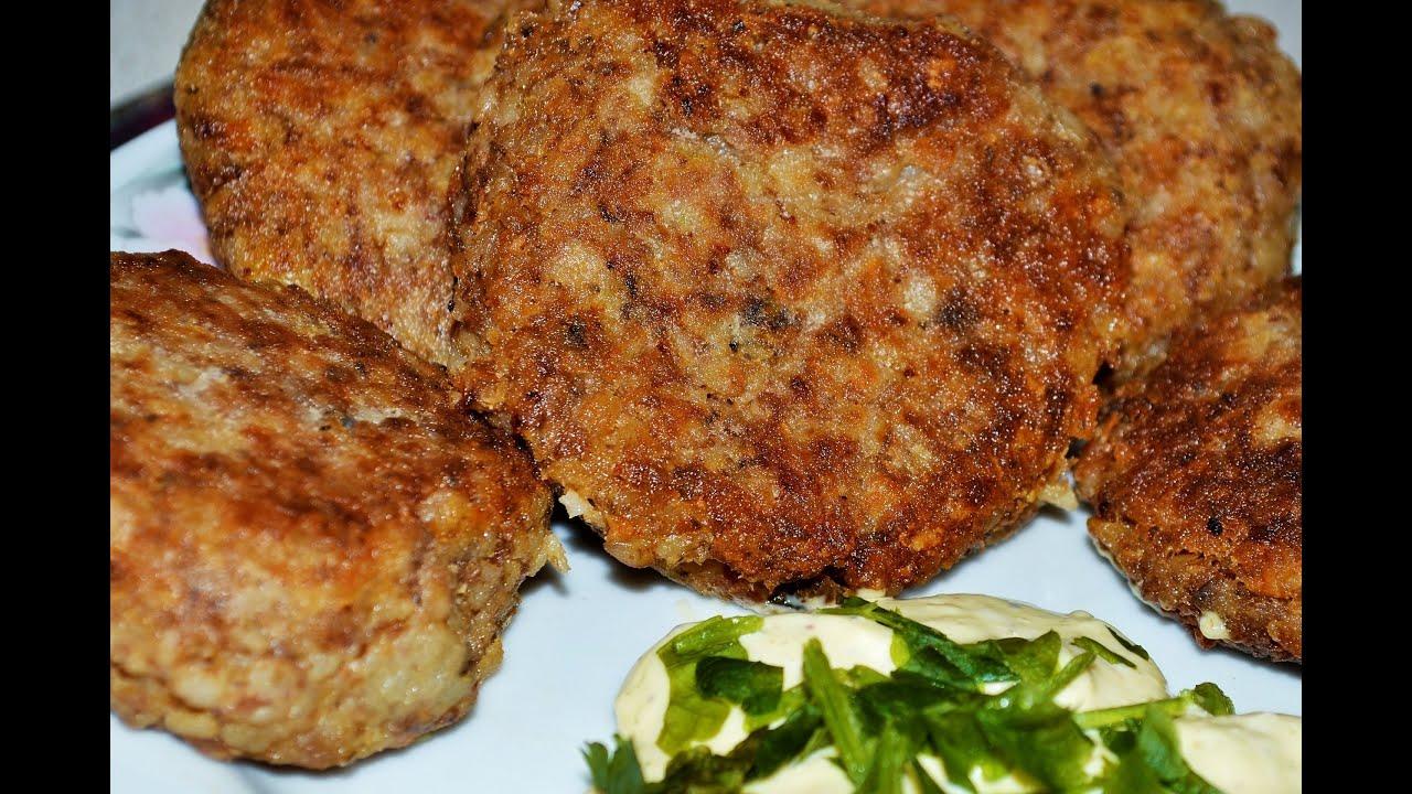 гречневые котлеты с грибами рецепт