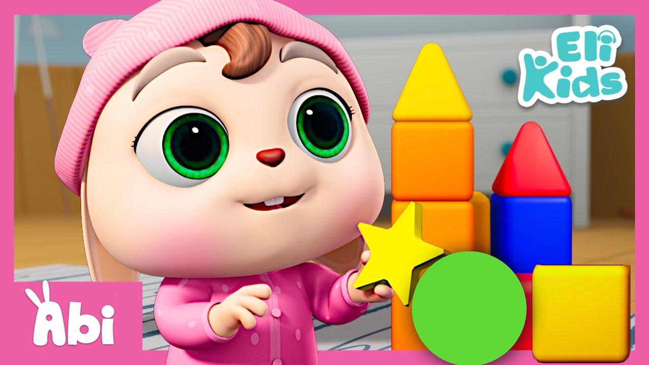 Shapes Song | Baby Learning | Eli Kids Songs & Nursery Rhymes