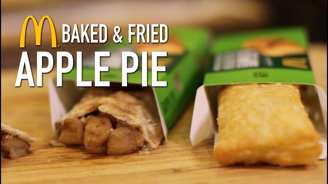 McDonalds Baked Fried Apple Pie