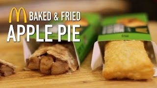 Gambar cover McDonalds Baked & Fried Apple Pie