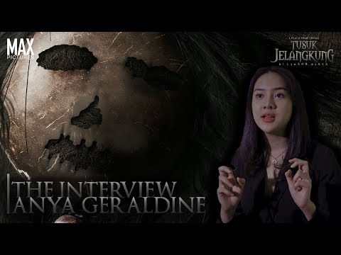 Cerita Anya Geraldine Pertama Kali Main Film Horor - Tusuk Jelangkung di Lubang Buaya