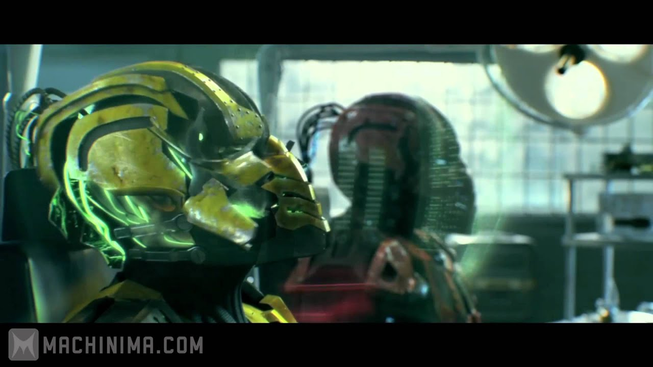 mortal kombat: legacy: cyrax and sektor skrillex reptile theme - youtube