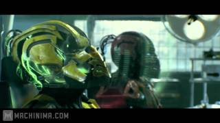 Repeat youtube video Mortal Kombat: Legacy: Cyrax and Sektor Skrillex Reptile Theme