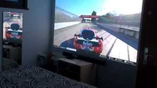 Forza Motorsport 5 with EPSON EH-TW5200