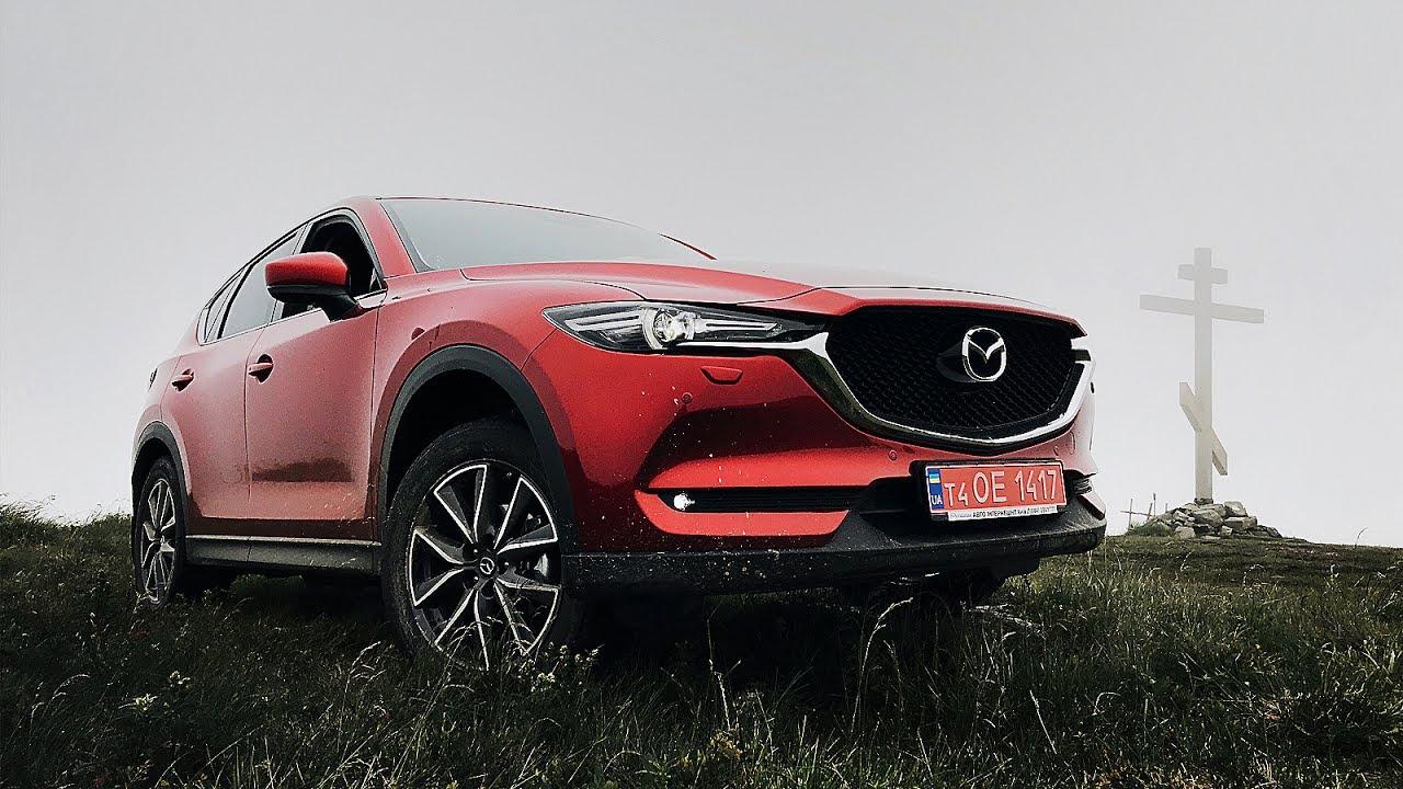 НОВАЯ Mazda CX5. Тестим в горах