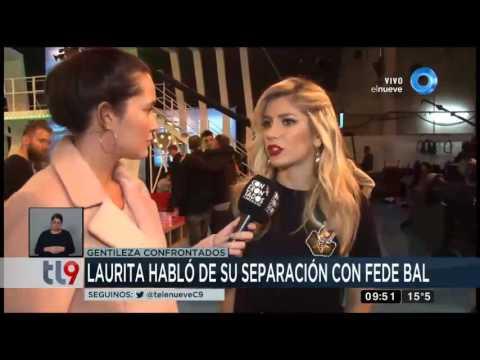 Laurita Fernández se refirió a su separación con Fede