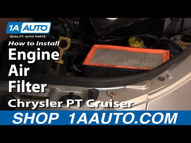 How To Replace Engine Air Filter 0105 Chrysler Pt Cruiser Youtuberhyoutube: 2001 Chrysler Pt Cruiser Cabin Air Filter Location At Gmaili.net
