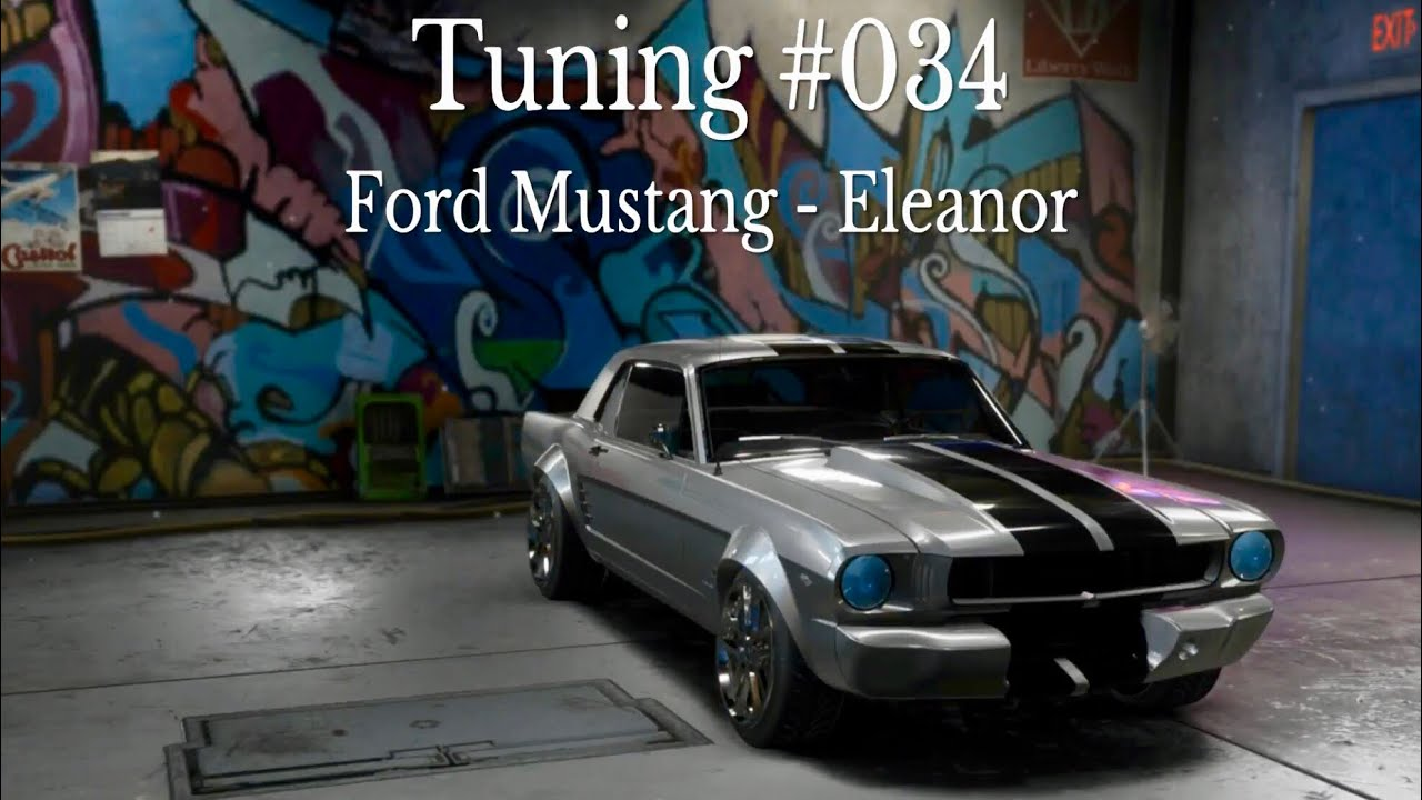 Need for speed payback tuning 034 ford mustang eleanor