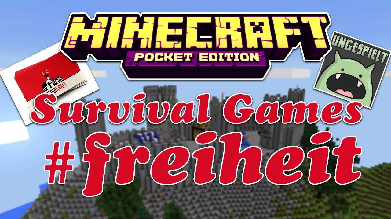 Mcpe Survival Games #freiheit | Bösartiges Ungeheure ...