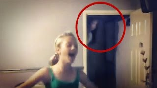 real scary video of ghost caught on tape   fantasma real