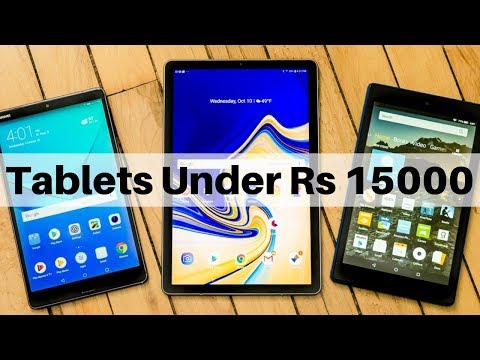 Top 5 Best 4G Calling Tablets Under Rs 15000 In India June 2019   10.1
