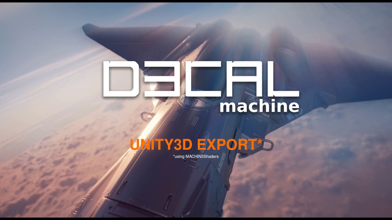 DECALmachine - Unity3D Export (outdated)