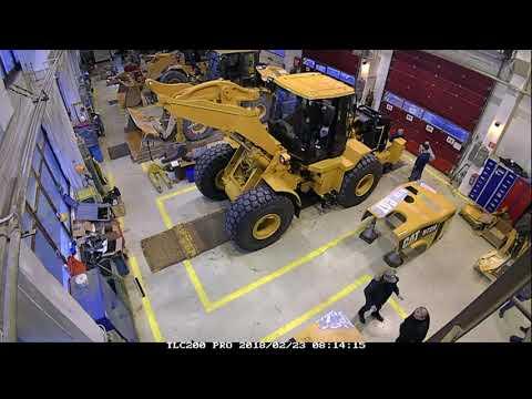 Certifikovaná Prestavba CCR Kolesového Nakladača Cat 972