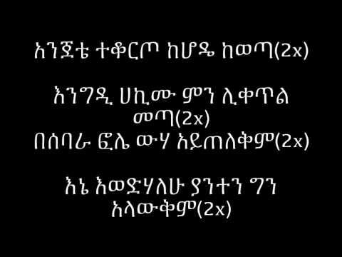 Aster Aweke Besebare Fole - Lyrics