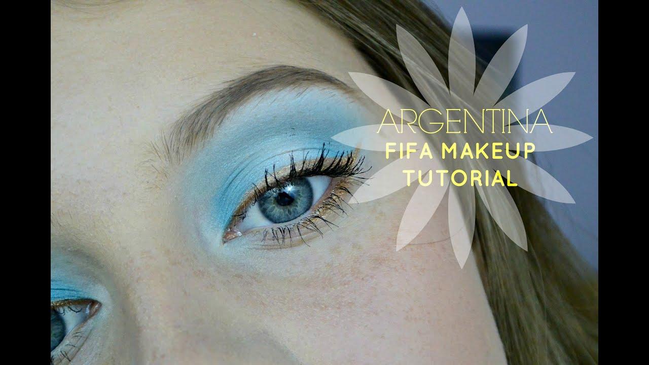 Argentina Makeup Tutorial