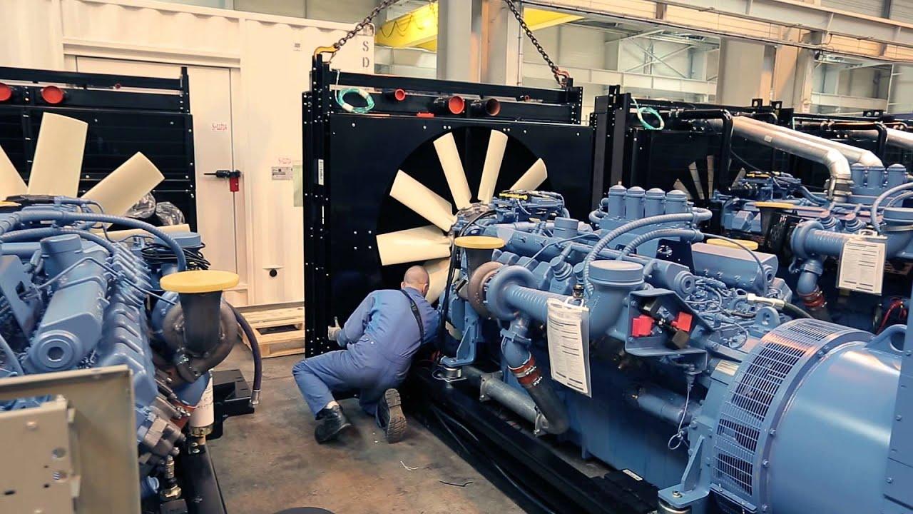 SDMO - How are generators made