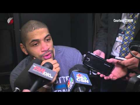 Nicolas Batum Shares Fond Thoughts on Rip City, Crabbe and McCollum