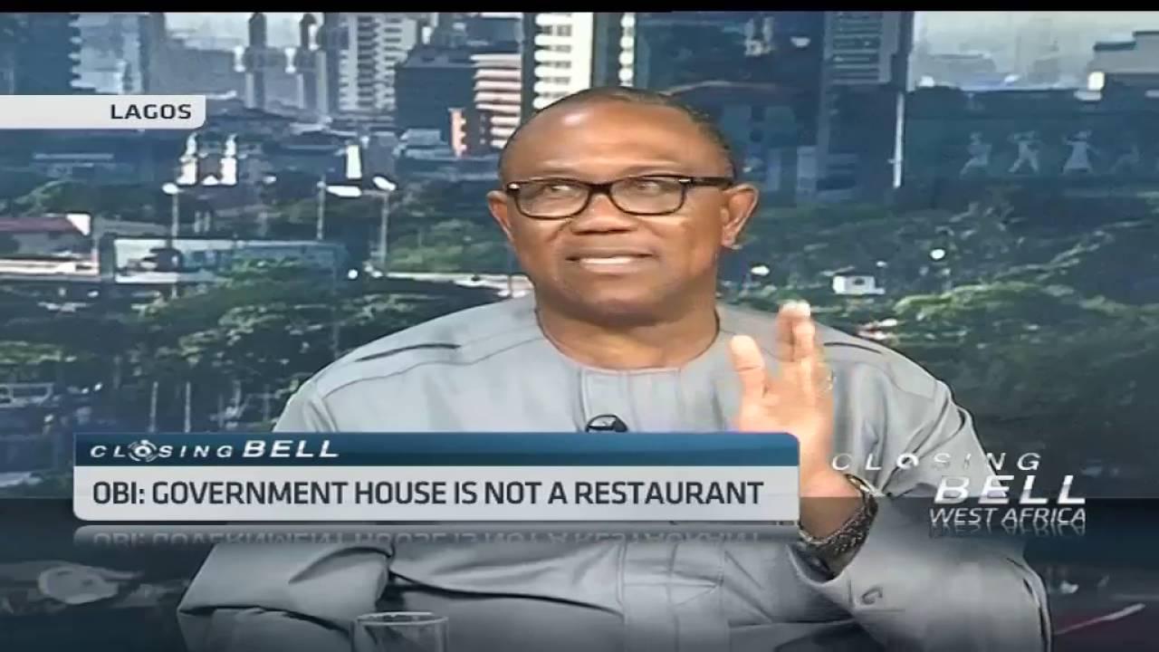 Ex-governor Peter Obi's startling revelations about governance in Nigeria