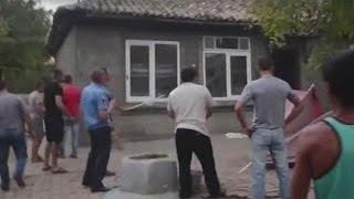 Roma forced to flee violent mob in Ukraine village