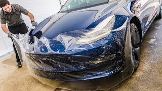 2019 Tesla Model 3: Up close and personal with PPF installation