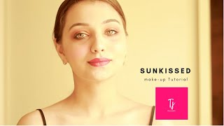"""Sunkissed Glow - """"Le soleil""""   The Make-up Tutorial   Giveaway Month  """