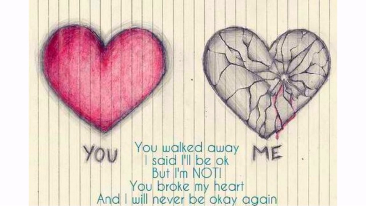 Heart Broken Quotes Youtube