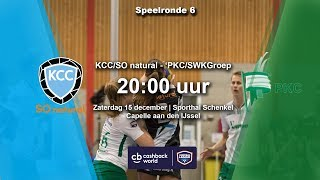 Cashback World Korfbal League: KCC/SO natural - PKC/SWKGroep