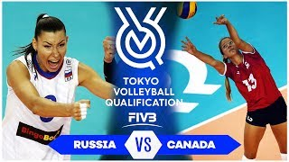 Russia vs Canada | Highlights - Women | Volleyball Olympic Qualifying Tournament 2019 (HD)