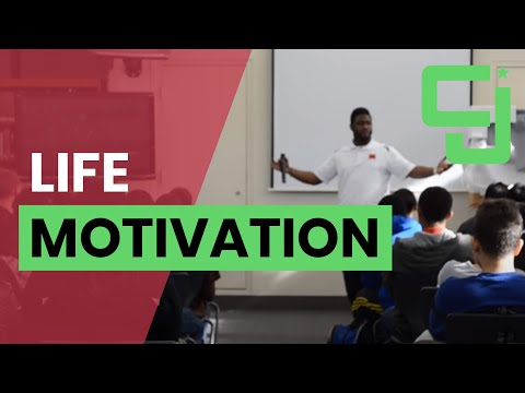 Life Motivation For High School Students Ft. CJ Beatty
